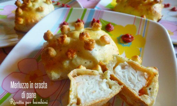Merluzzo in crosta di pane, ricetta per bambini