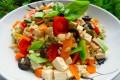 Insalata di riso e avena leggerissima, vegan, ecosostenibile