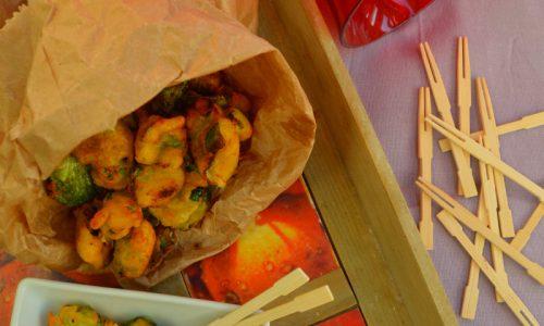 Chips di cavolini di Bruxelles
