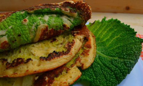 Crepes di verza, ricetta vegan