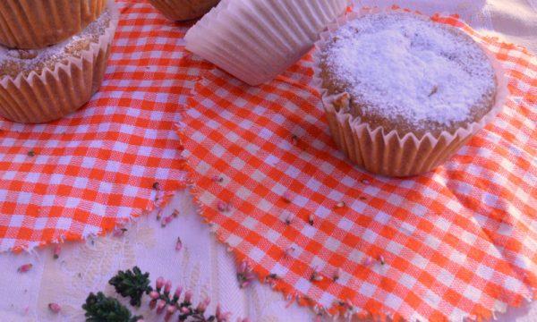 Muffin veg al succo di mela e arancia, senza zucchero