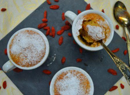 Souffle in tazza in 5 minuti, cottura al microonde