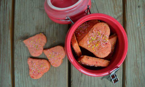 Biscotti alla barbabietola