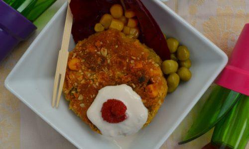 Burger veg di mais e piselli, ricetta senza glutine