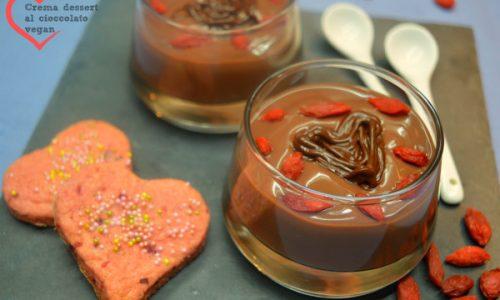 Crema dessert veg al cioccolato