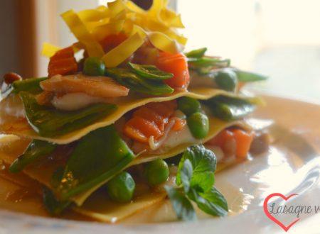 Lasagne veg alle verdure di primavera