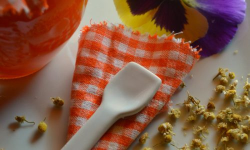 Marmellata di arance e camomilla
