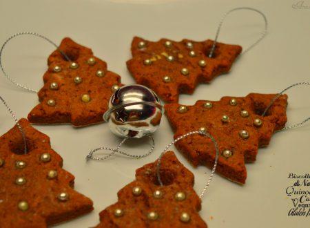 Biscotti di Natale quinoa e cacao