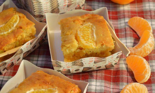 Merendine con mandarini, mele e nocciole | Ricetta merendine vegane senza zucchero a base di frutta