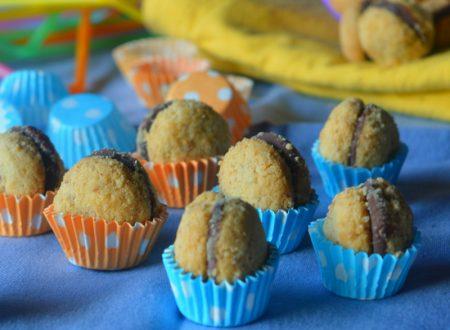 Baci di dama alle arachidi e vegnutella