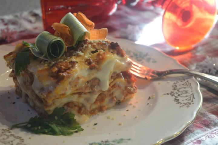 Lasagne di lenticchie vegetariane