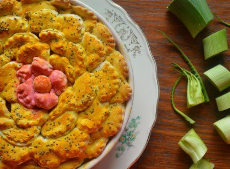 Timballo di pasta in crosta di pane, ricetta vegan