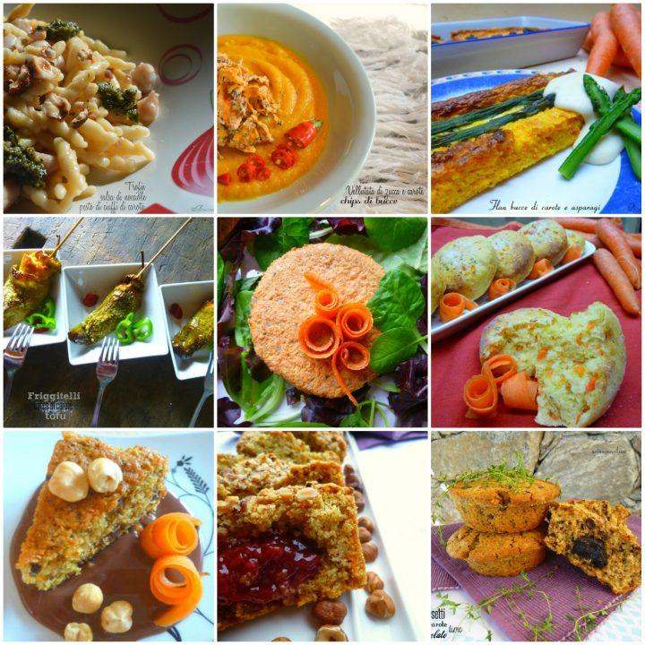 Carote ricette raccolta