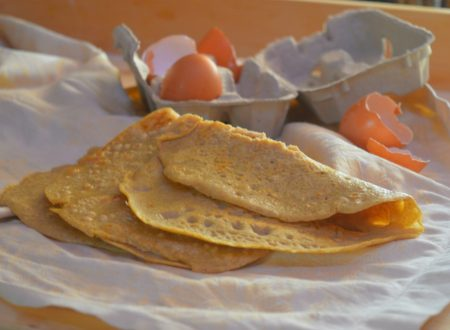 Crepes con farina di quinoa, ricetta facilissima