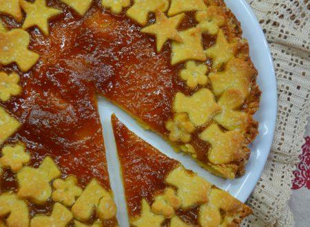 Crostata integrale con marmellata di fichi fioroni e limone
