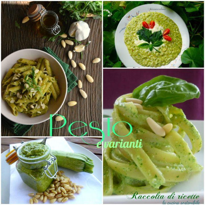 Pesto e varianti | Raccolta di ricette con il pesto