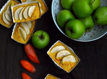 Tortine facilissime di mele e carote | Ricetta senza glutine e senza zucchero