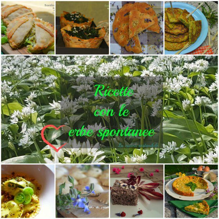Ricette con le erbe spontanee | Raccolta di ricette primaverili