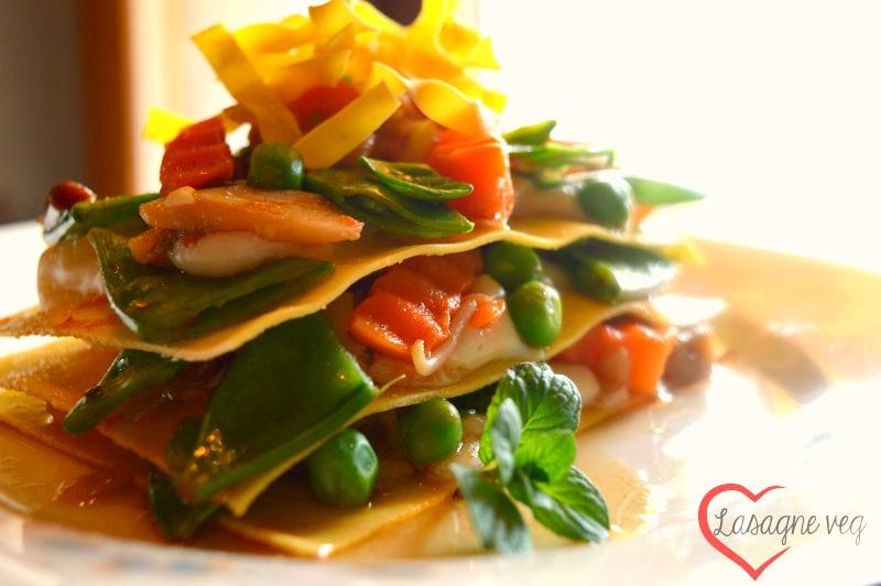 Lasagne alle verdure di primavera | Ricetta lasagne vegan
