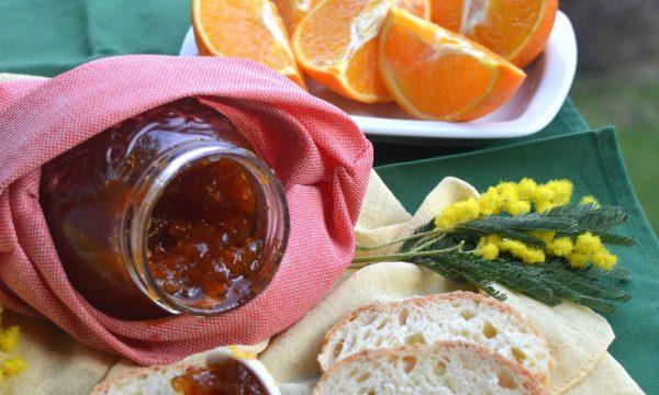 Marmellata di arance e mimosa