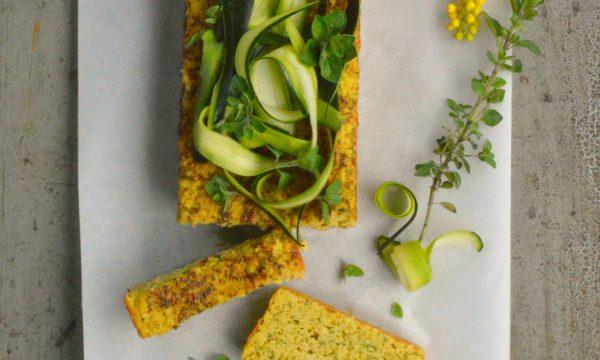 Pan di zucchine | Pane per sandwich con zucchine frullate