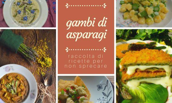 Raccolta di ricette con i gambi di asparagi | Ricette con gambi di asparagi