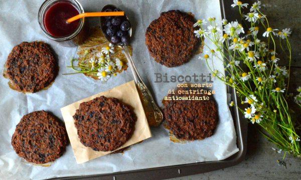 Biscotti con scarto di centrifuga antiossidante