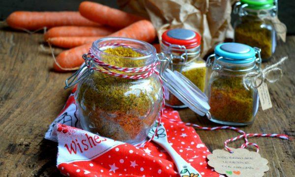 Dado vegetale granulare alla curcuma | Ricetta dado vegetale fatto in casa