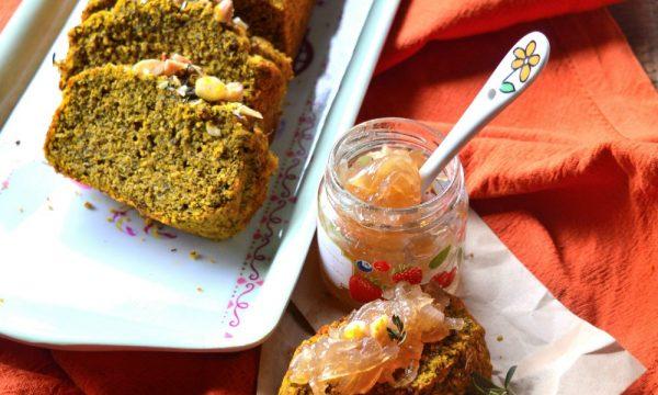 Pan bauletto con zucca e grano saraceno | Ricetta pane di zucca senza glutine