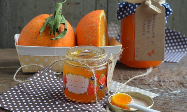 Marmellata di arance e carote