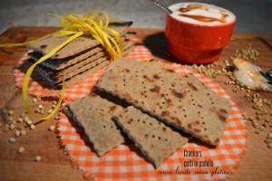 Crackers senza lievito e senza glutine, cotti in padella