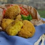 Crocchette di miglio, patate e zafferano