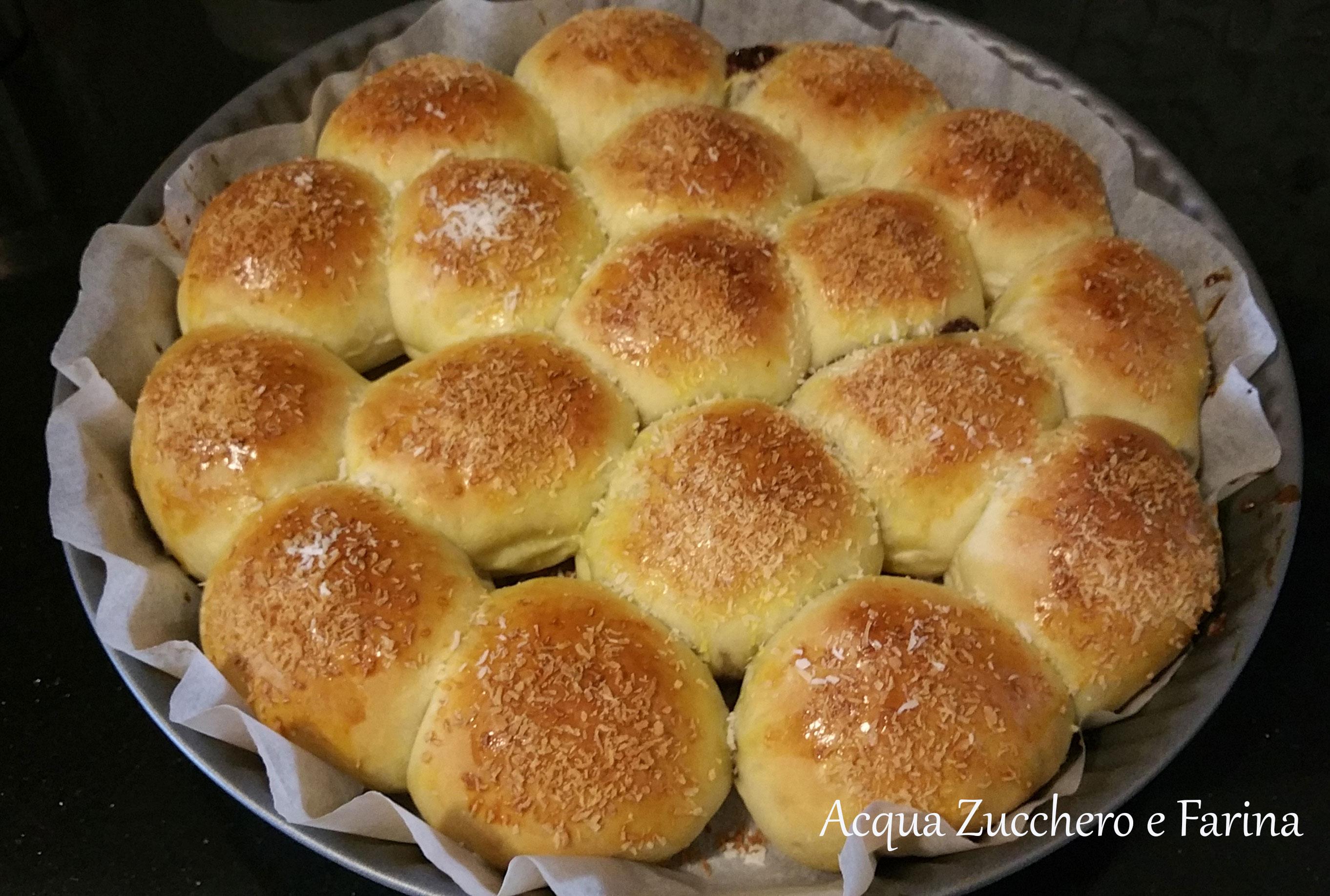 Danubio dolce alla nutella e cocco (ricetta Kenwood Cooking chef ...