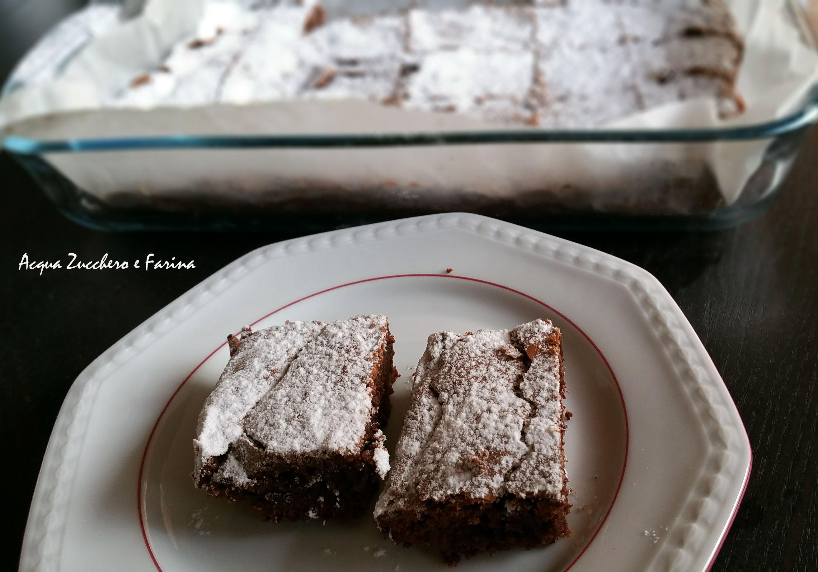 Quadrotti al cioccolato di Benedetta Parodi (con e senza Bimby)