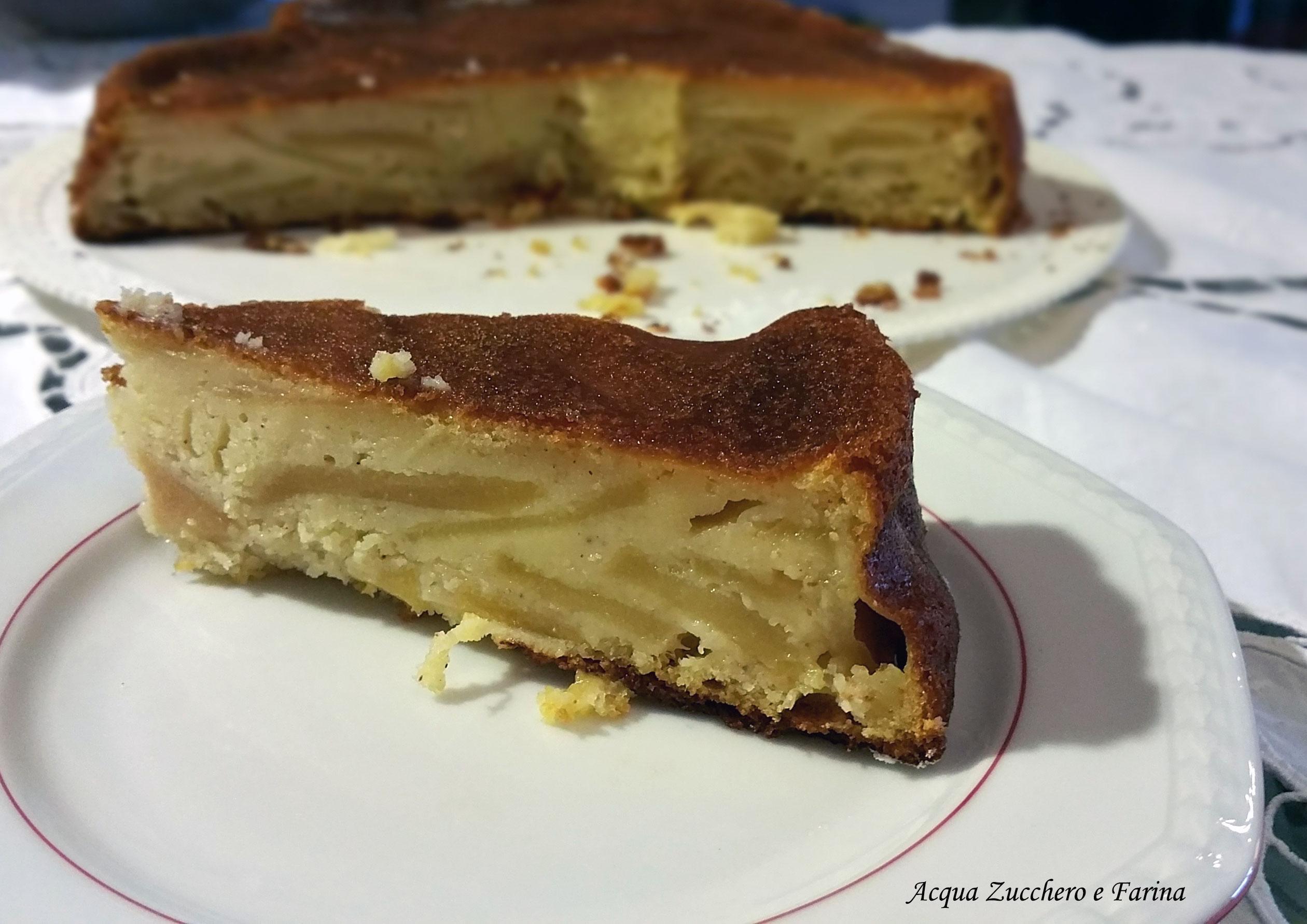 Torta rustica di mele Bimby