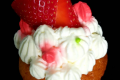 Muffin fragola e panna