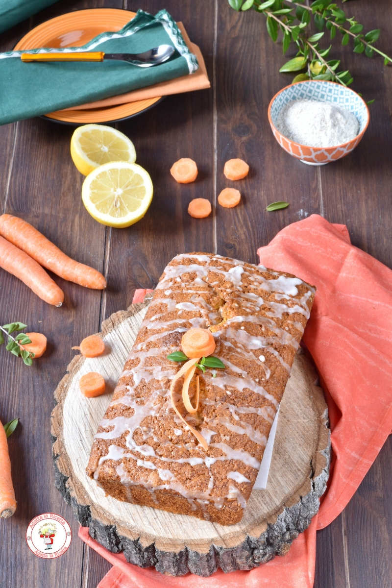 Plumcake alle carote e farina integrale