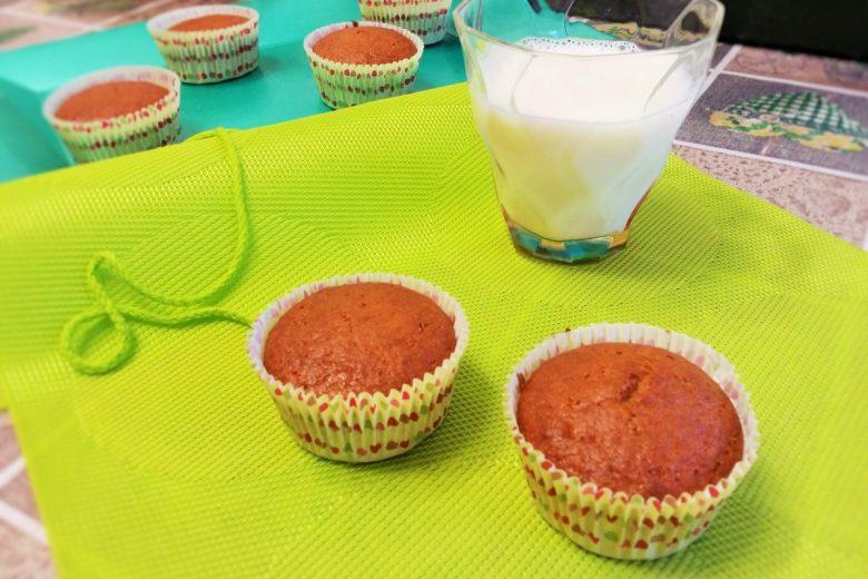 Muffin light merenda sana e dolcini per la dieta