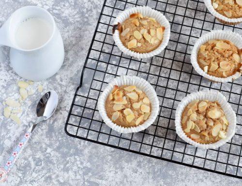Muffin mele e cannella con farina integrale