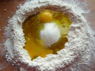 Pasta frolla all'olio extra vergine di oliva ingredienti