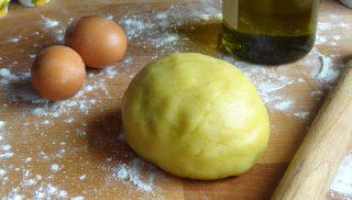 Pasta frolla all'olio extra vergine di oliva