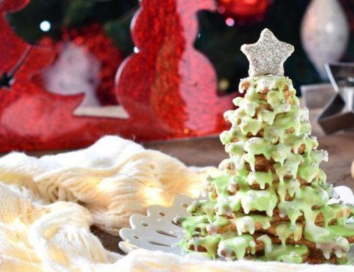 Albero di Natale con biscotti speziati