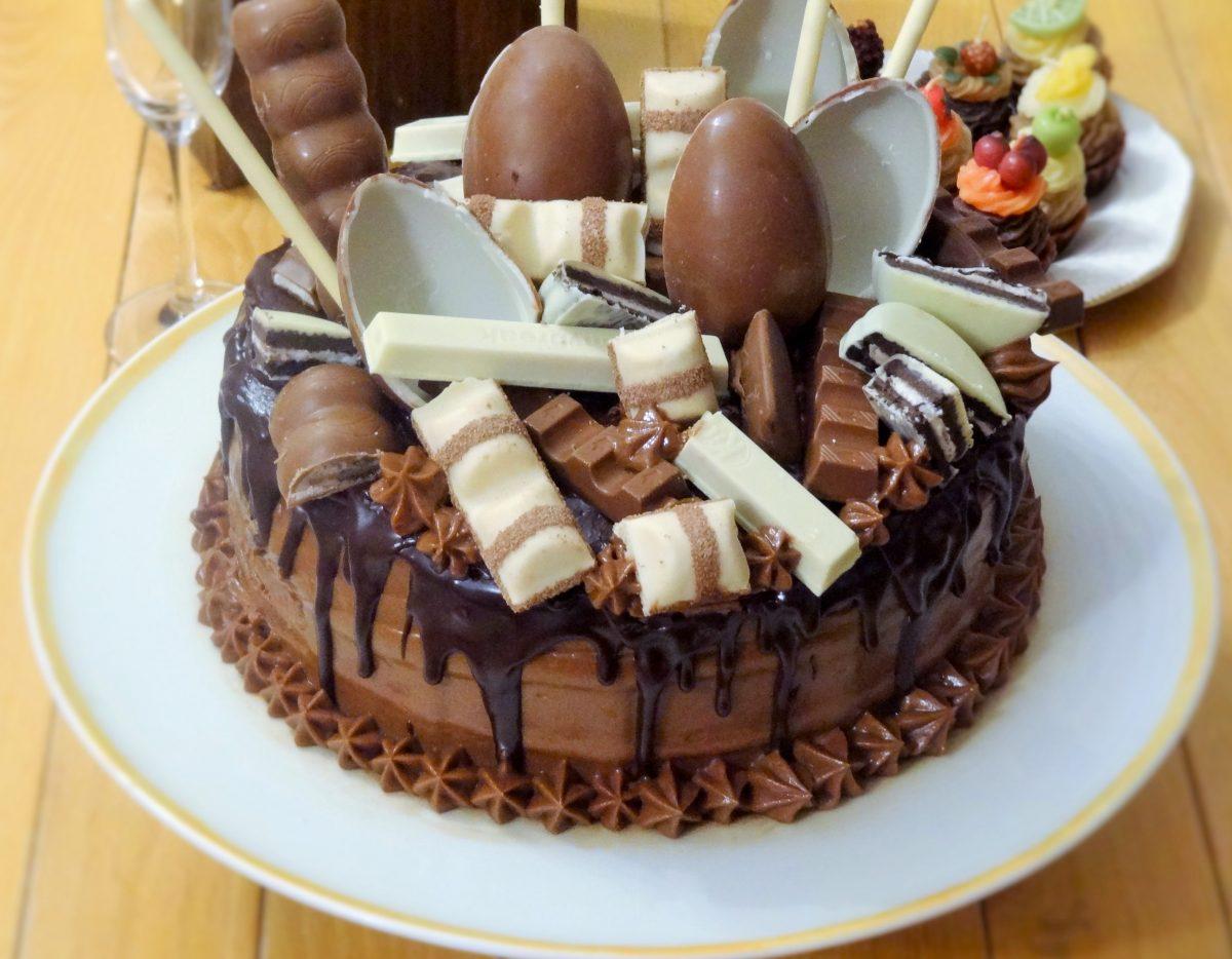 Idee Per Decorare Una Torta drip cake la mia torta di compleanno