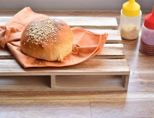 Panini per hamburger fatti in casa bimby