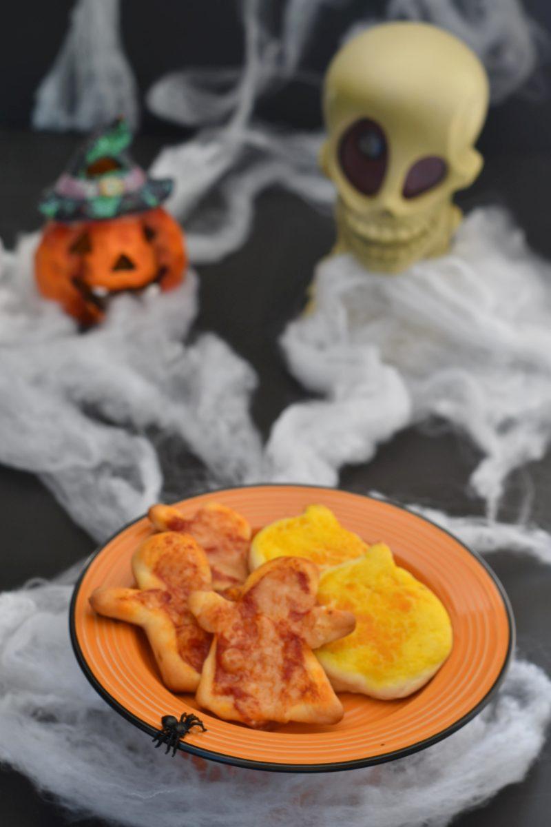 Pizzette morbide da buffet o aperitivo anche con Bimby halloween
