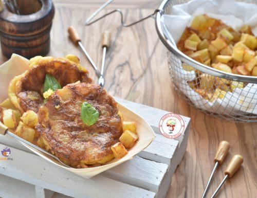 Frittata di patate versione finger food