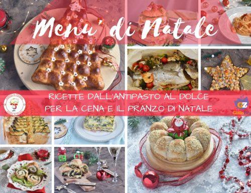 Menù di Natale dall'antipasto al dolce ricette facili