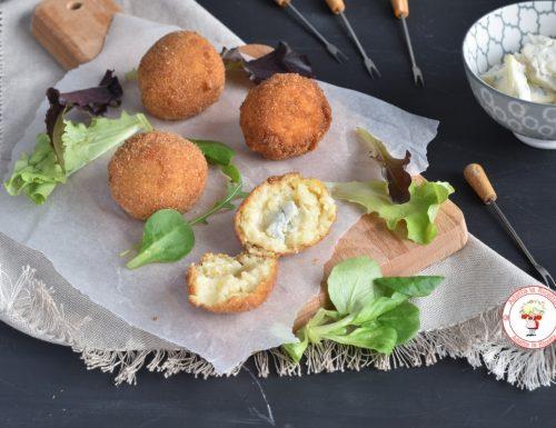 Crocchette di patate e cavolfiore con gorgonzola