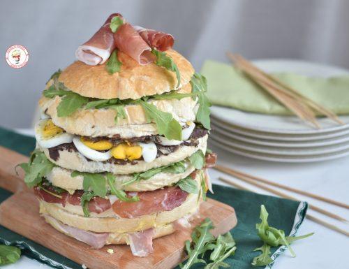 Panettone gastronomico salato con farce facili ed economiche