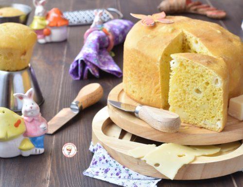 Torta al formaggio o crescia di Pasqua senza strutto